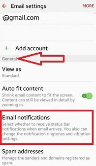 how to turn email notifications on android how to turn on email notifications gmail android phone