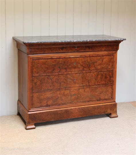commode atlas walnut marble top chest of drawers commode antiques atlas