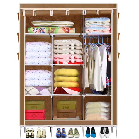 popular canvas wardrobe closet buy cheap canvas wardrobe