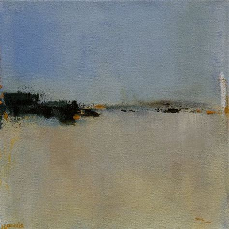 contemporary abstract landscape painting 12x12 original