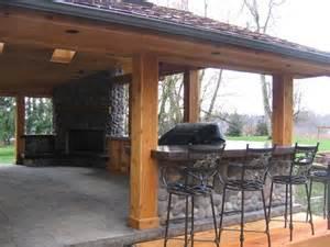 Rear Patio Designs Outdoor Kitchen The Design Studio