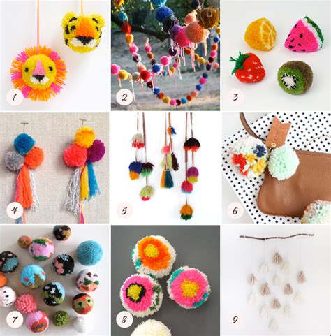 pom pom craft projects diy pom pom ideas diy crafts 100 layer cakelet