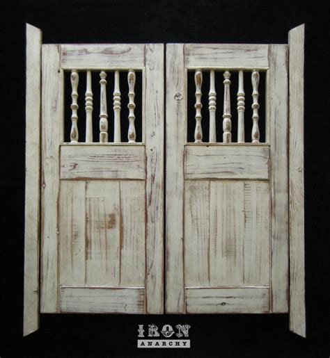 Swinging Interior Doors Custom Swinging Saloon Doors Farmhouse Interior Doors Los Angeles By Hylton Butterfield