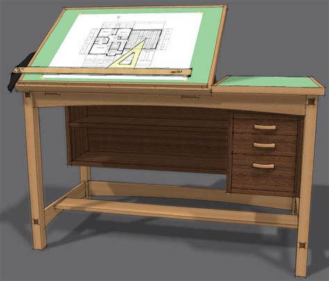 Drafting Table Woodworking Plans Brokeasshome Com Drafting Table Skyrim