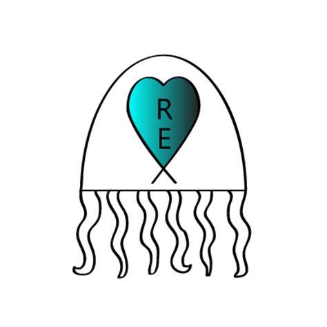simple jellyfish tattoo clipart best