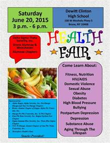 community health fair this saturday new york city