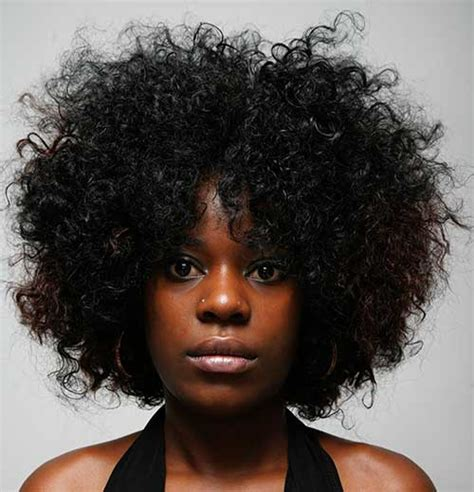 Black Afro Hairstyles by 15 Curly Afro Hairstyle Hairstyles 2017