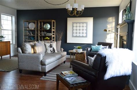 living room makeover vintage revivals 26 the interior perfect pale gray paint vintage revivals