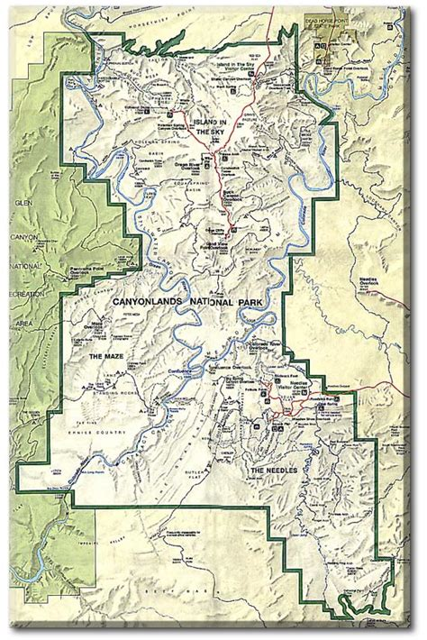 canyonlands national park map canyonlands national park map map3