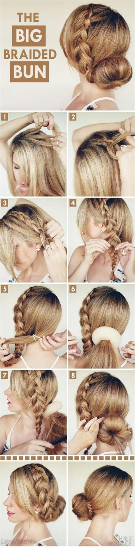 Easy Hairstyles Tutorials by 32 Amazing And Easy Hairstyles Tutorials For Summer