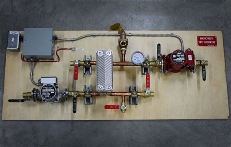 a layout method for control panel of thermal power plant single zone hydronic heating panel triple h hydronics inc