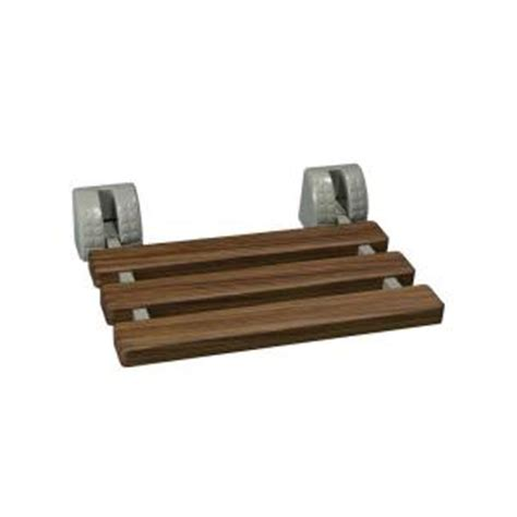 Home Depot Shower Seat by Glacier Bay Fold Tub And Shower Seat In Faux Teak Tb
