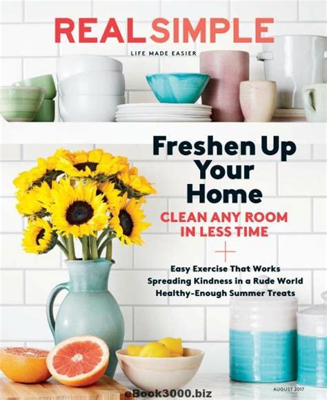 top 10 decorating magazines real simple better homes real simple august 2017 free pdf magazine download
