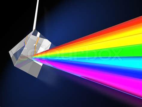 Light Clouds Jasuke E Liquid prisme med lysspektrum stock foto colourbox