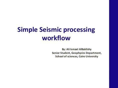 seismic processing workflow seismic processing workflow best free home design