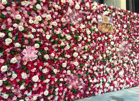 floral wallpaper for walls wedding backdrop archives the flower wall company