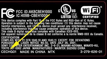 Ps2 Sony Disc 40gb 65 Baru fcc filing reveals new ps3 model