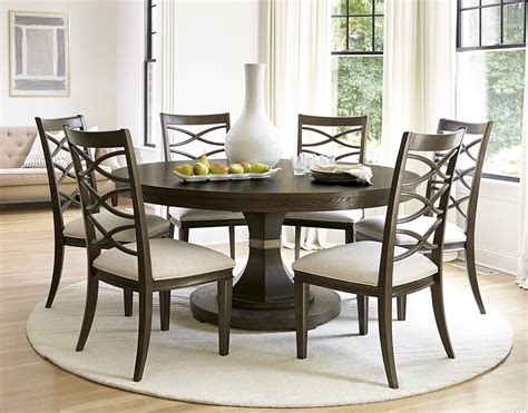 universal furniture california 7pc round dining room set w 7 piece round dining room set bombadeagua me