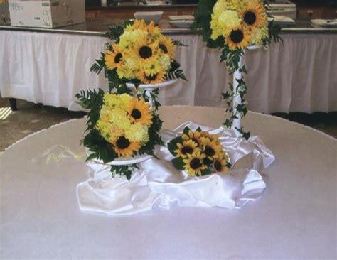 Sunflower Centerpieces For Weddings Photo Gallery Photo Of Sunflower Centerpieces