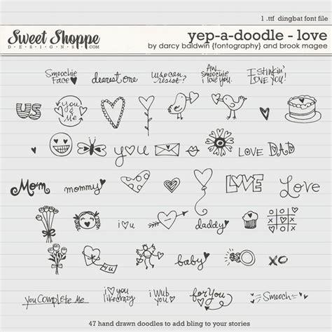 doodle font ideas sweet shoppe designs fonts djb fonts yep a doodle