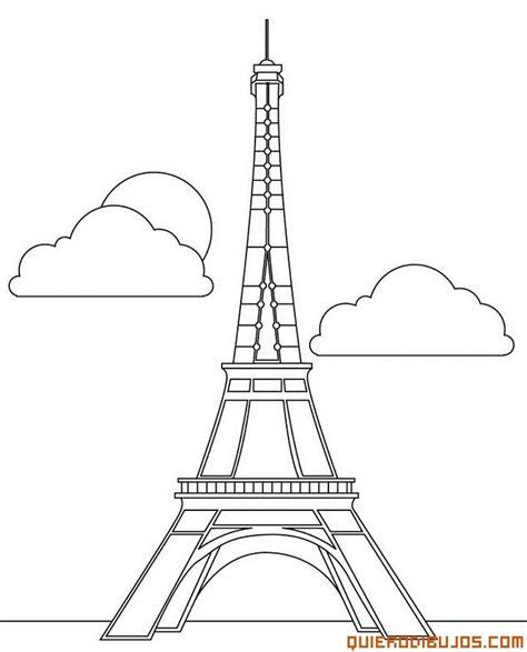 imagenes blanco y negro torre ifel dibujos para colorear de la torre eiffel francia
