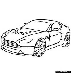 Aston Martin Coloring Pages Aston Martin Vantage Coloring Page