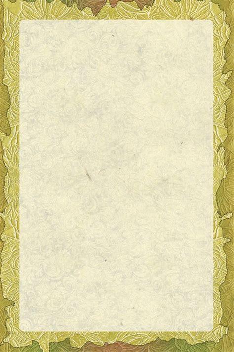 Kostenlose Vorlage Briefpapier kostenlose illustration floral briefpapier golden