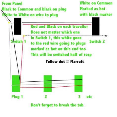 3 way switch wiring diagram split 3 free engine image