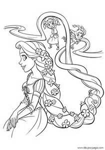 dibujo rapunzel walt disney 018 dibujos y juegos para