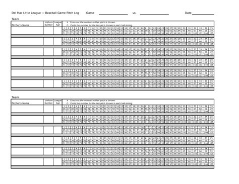 baseball pitching chart template pitching chart template pictures to pin on