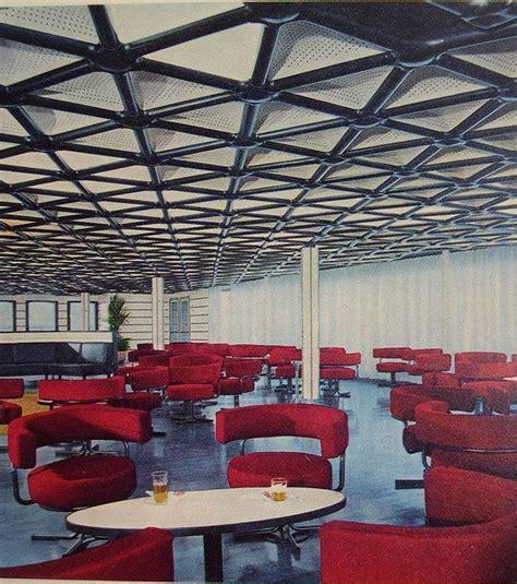 italian veranda tourist class veranda bar italian liner raffaello mid