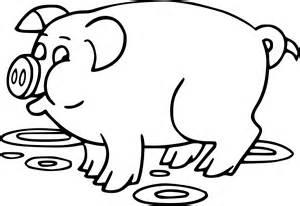 coloriage cochon dessin 224 imprimer sur coloriages info