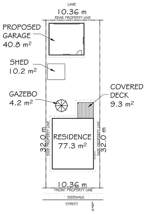construction drawings required for your site built structures the city of calgary garage shed greenhouse carport