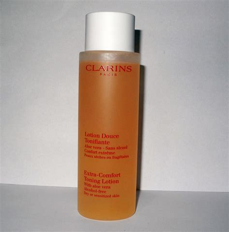 clarins extra comfort toning lotion clarins extra comfort toning lotion for dry and sensitive