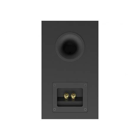 elac debut b4 black brushed vinyl bookshelf speakers pair