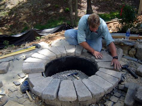 diy pit with stones how to build a pit how tos diy