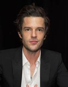 Miley Backyard Session Brandon Flowers Signs Copies Of His New Album The Desired