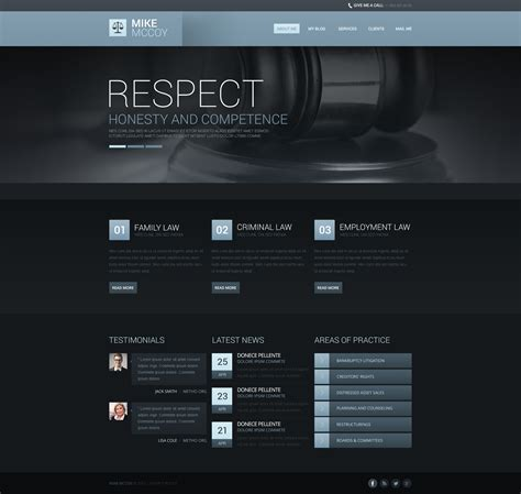 drupal themes live demo atmospheric law firm drupal template 45958