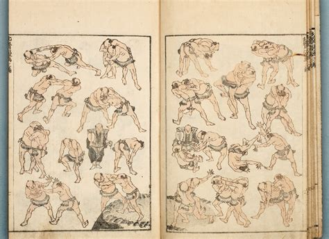 sketchbook japanese honolulu museum of 187 oh sumo