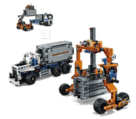Diskon Lego Technic 42062 Container Yard lego technic container yard 42062 at mighty ape nz