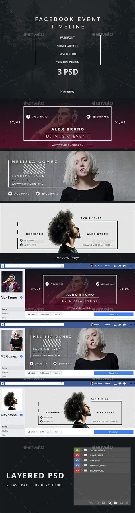 25 best ideas about facebook cover photo template on