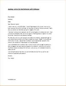 Apology Letter Template For Behaviour by How To Write A Letter Of Apology For Bad Behavior Cover
