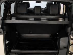 Jeep Door Storage Slimline Ii Interior Rack Jeep Wrangler Jk 5 Door