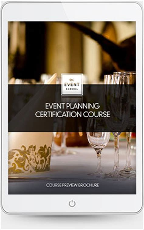 Private Event Planning Course   QC Event School