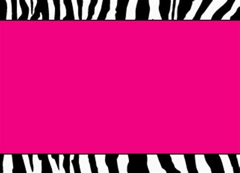 pink and zebra print border free wallpaper pink zebra clipart clipart panda free clipart images