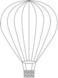 air balloon templates free air balloons free digital sts free