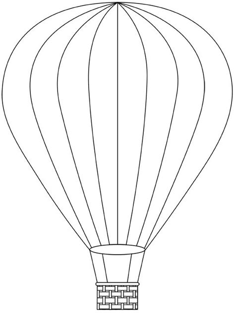 air balloon card template 77 best air balloons images on coloring