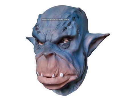 Costumes Mask Ogre Papercraft costume mask blue ogre