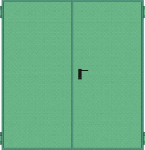 porte ninz porte tagliafuoco rei 120 mod univer anta doppia in