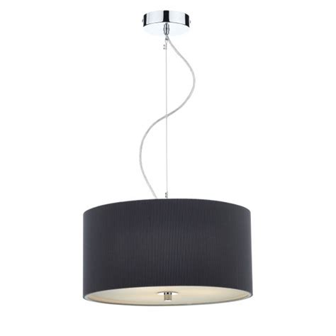 contemporary grey ceiling pendant with opal diffuser for